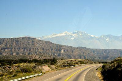 Mendoza to Santiago Andes