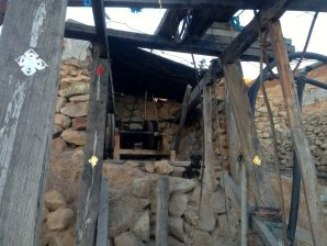 Potosi Mine Tour Outside Mine Hoist