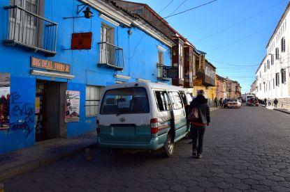 Potosi Mine Tour Van