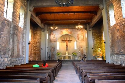 Santiago Cerro San Cristóbal Church Interior