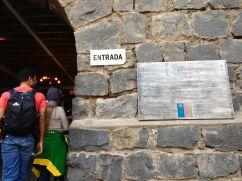 Santiago Cerro San Cristóbal Funicular Entrace