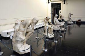 Santiago Museo Bellas Artes Statues