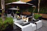 The Aubrey Santiago Outdoor Lounge
