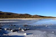 Uyuni Salt Flats Volcano Edge