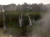 Iguacu Falls Side View