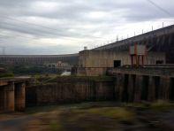 Itaipu Dam Side View
