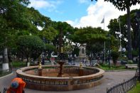 Sucre Square Fountain