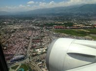 AA flight to Port au Prince View