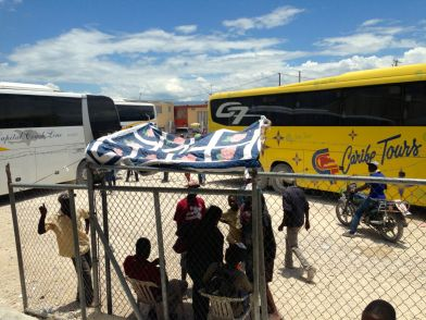 Haiti Dominican Republic Border buses
