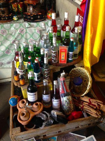 Iron Market Port-au-Prince Voodoo Bottles