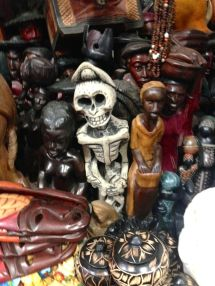 Iron Market Port-au-Prince Voodoo Carving