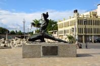 Port-au-Prince Historic Center Monument Statue