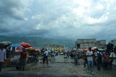 Port-au-Prince Iron market Leaving
