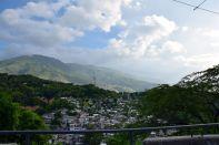 Port-au-Prince Slums Mountain