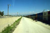 Port-au-Prince Street Scene Container Wall UN