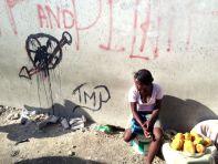 Fruit seller in Port-au-Prince