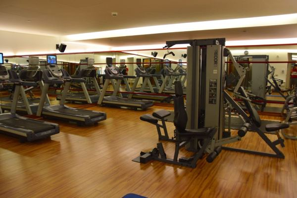 The Smallville Hotel Gym