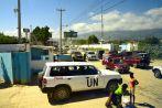 UN Police SUV Haiti