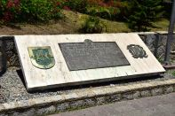 Dominican Republic Santo Domingo Ciudad Colonial UNESCO plaque