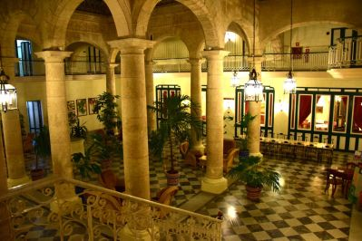 Interior of the Florida Hotel
