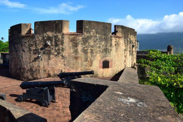 Puerto Plata Fortaleza San Felipe Cannons