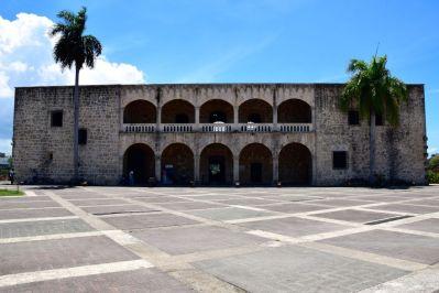 Santo Domingo Alcázar de Colón Front