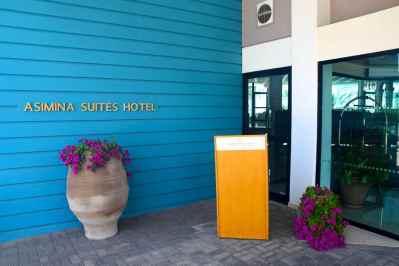 Asimina Suites Hotel Entrance
