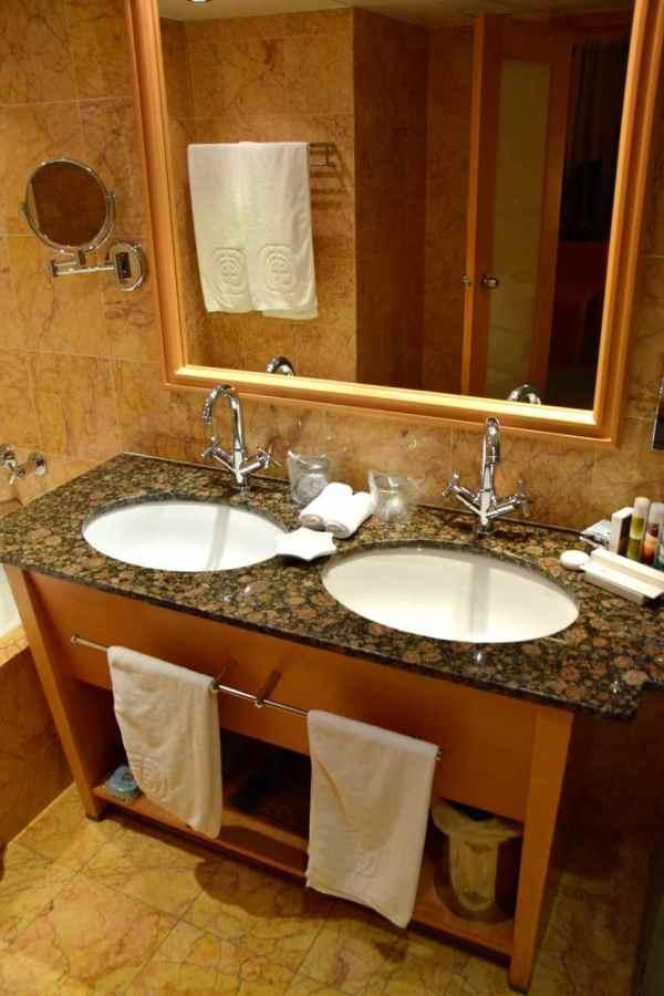 Asimina Suites Hotel Room Bathroom Sinks