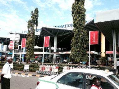 Arriving in Dar es Salaam