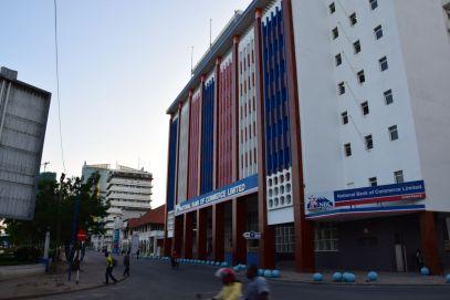 Dar es Salaam Street in Downtown Shops