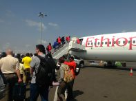 Ethiopian Air Boarding