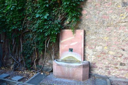 Frankfurt Goethe Fountain