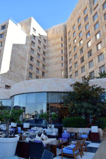 Grand Hyatt Amman Restaurant and Building