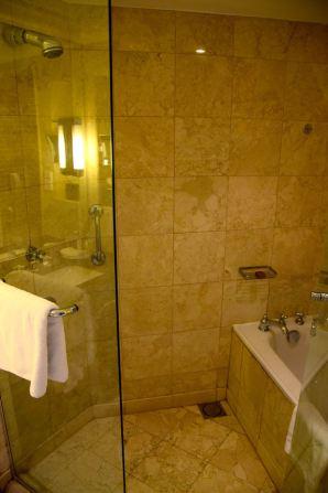 Grand Hyatt Amman Room Shower