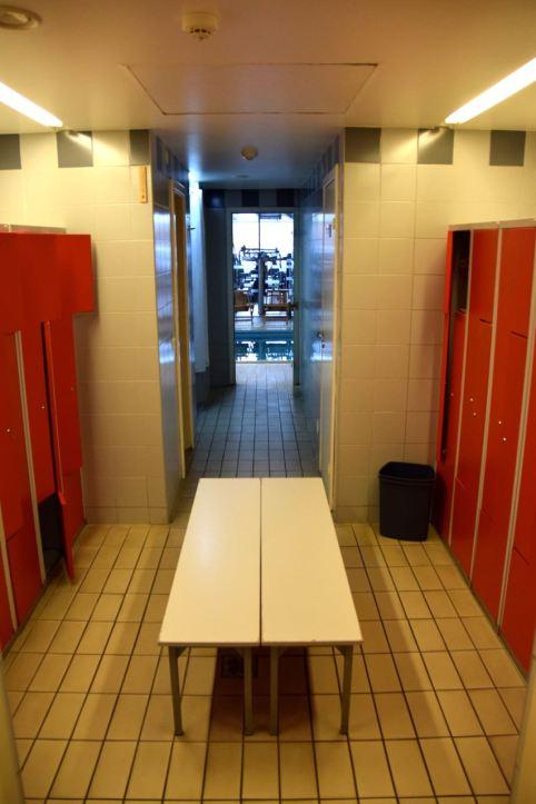 Hotel Kaunas Gym Lockers