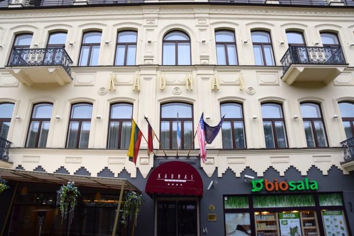 Hotel Kaunas Header