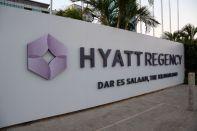 Hyatt Regency Dar es Salaam Exterior Sign