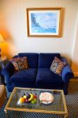InterContinental Le Vendome Room Sea View Couch