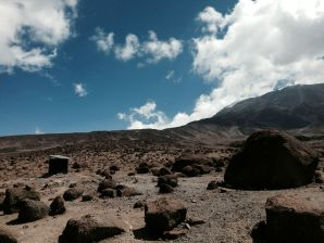 Kilimanjaro Horombo Hut Hike Rocks