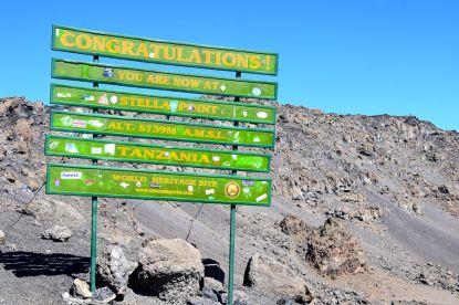 Kilimanjaro Kibo Hut Summit Hike Stella Point
