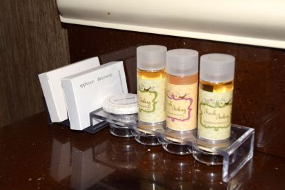 Menelaion Hotel Room Toiletries