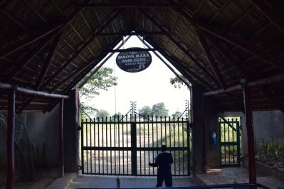 Sarova Mara Game Camp Entrance Security