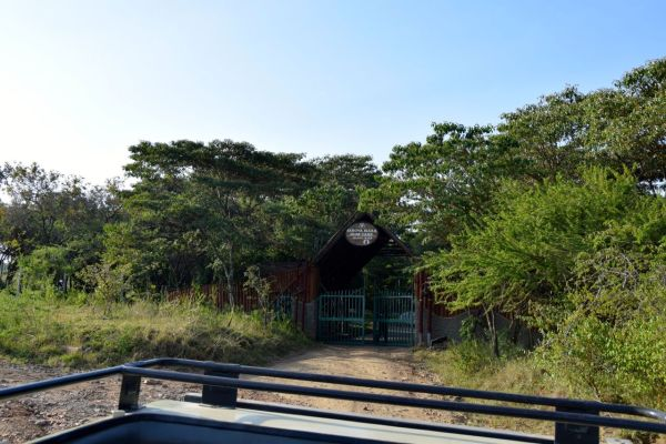 Sarova Mara Game Camp Entrance