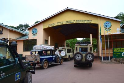 Entrance of the conservation area