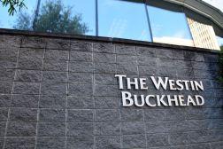 Westin Buckhead Atlanta Sign