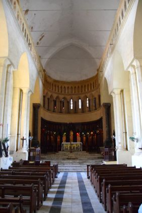 Zanzibar Christ Church Interior