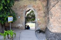 Zanzibar Old Fort Courtyard Entrance