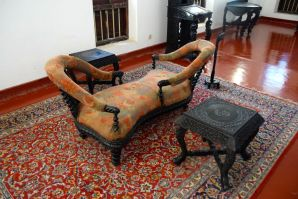 Zanzibar The Palace Museum Chair