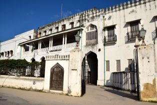 Zanzibar The Palace Museum Entrance