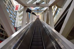 Atlanta CNN Escalator
